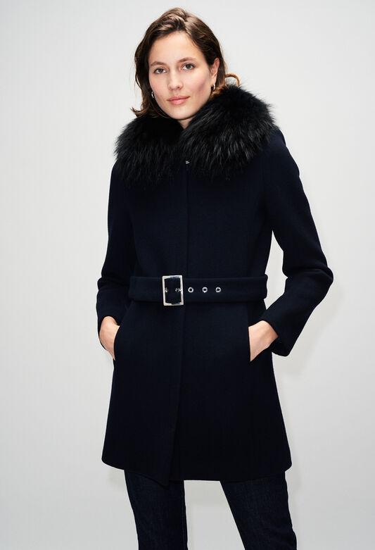 GILLESH19 : Abrigos y chaquetas color MARINE