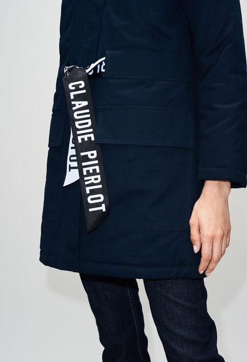GINEVRAH19 : Abrigos y chaquetas color MARINE