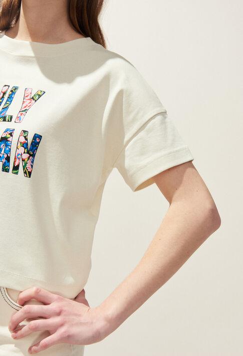 TOCOLOR : T-shirts couleur Ivoire