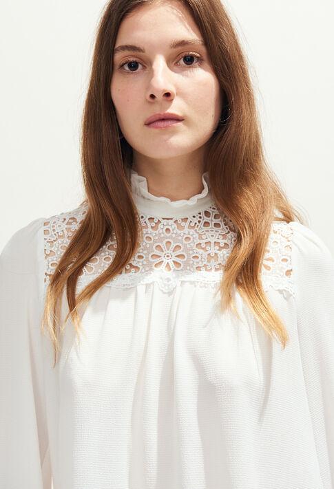 BADABOUM BIS : Tops y camisas color Ecru