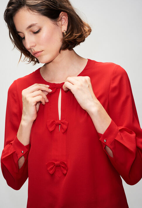 BALADINEH19 : Tops y camisas color COQUELICOT