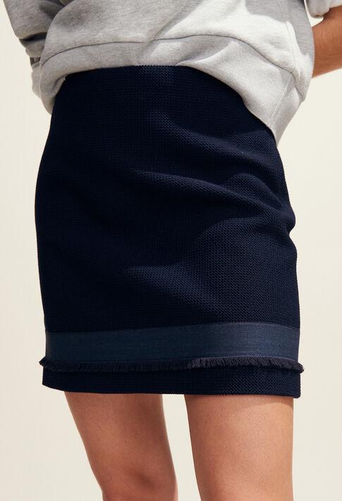 SAXO : Faldas y pantalones cortos color Marine