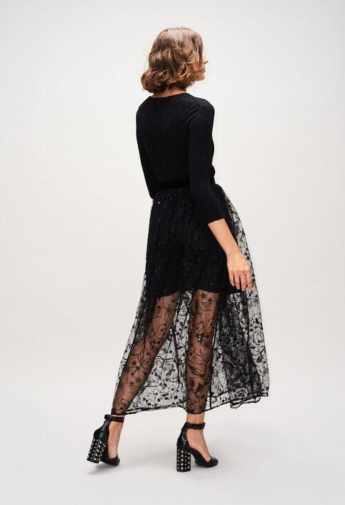 SALOMEEH19 : Faldas y pantalones cortos color NOIR