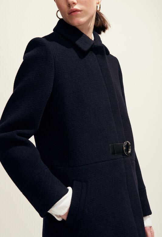 GINGEMBRE : Abrigos y chaquetas color MARINE