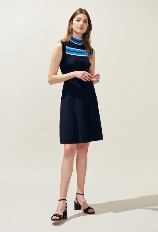 MURIEL : Vestidos color MARINE
