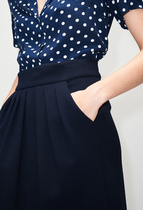 SYLVIAH19 : Jupes et Shorts couleur MARINE