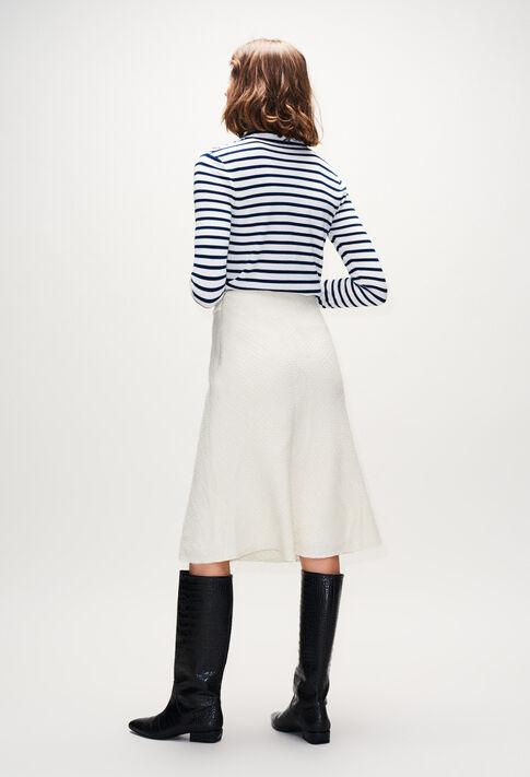 SAUGEH19 : Faldas y pantalones cortos color ECRU