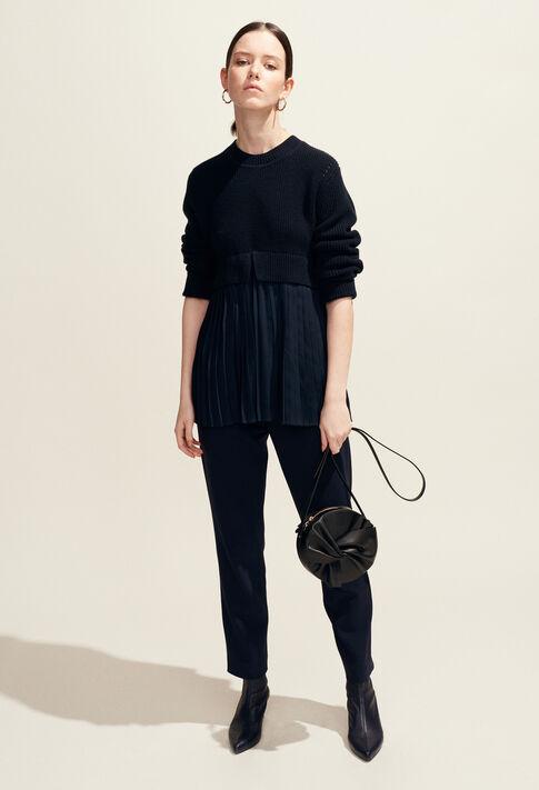 MONCIEL : Maille & Sweatshirts couleur Marine