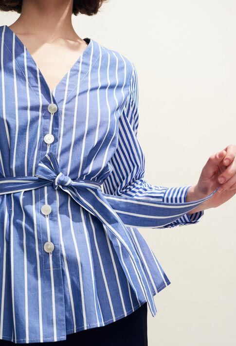 BANKSIA : Tops y camisas color Indigo