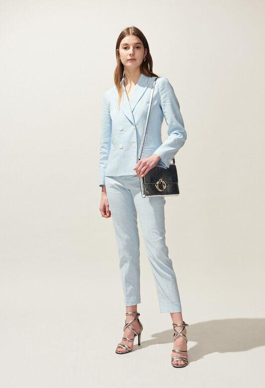 VAGABONDE : Vestes couleur CIEL