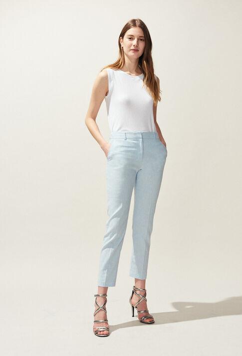PATEL : Pantalons et Jeans couleur Ciel