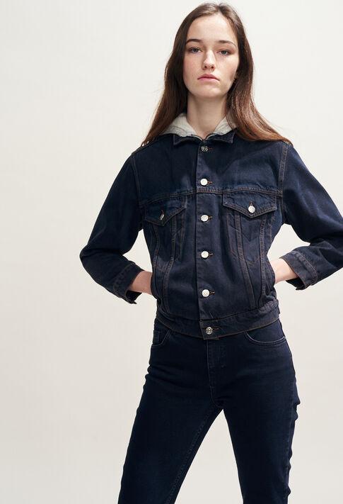 VINCE : Abrigos y chaquetas color Jean