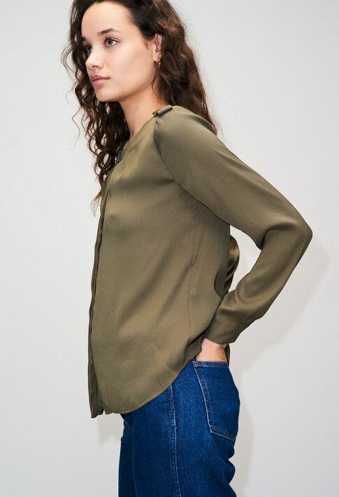 BINOH19 : Tops et Chemises couleur KAKI