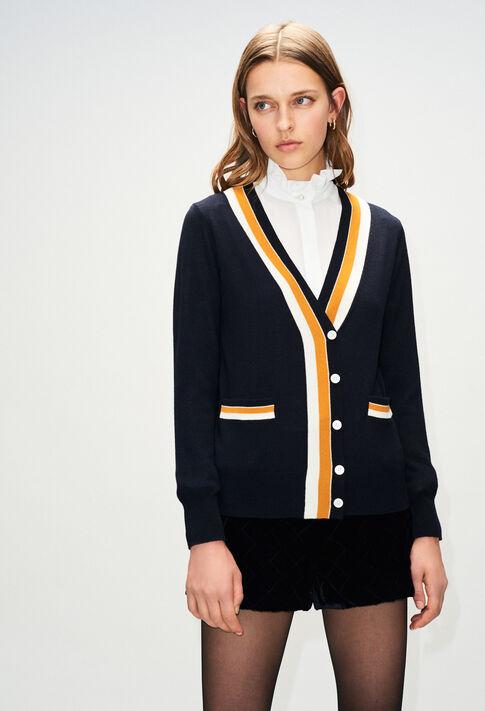 MACEDOH19 : Jerseys de punto y sudaderas color MARINE