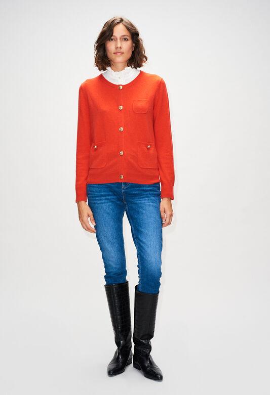 MILLYH19 : Jerseys de punto y sudaderas color ORANGE