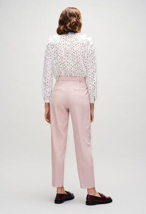 PALAZZIOH19 : Pantalons et Jeans couleur NUDE
