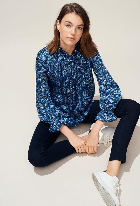 BAMILYA : Tops et Chemises couleur BLEUET