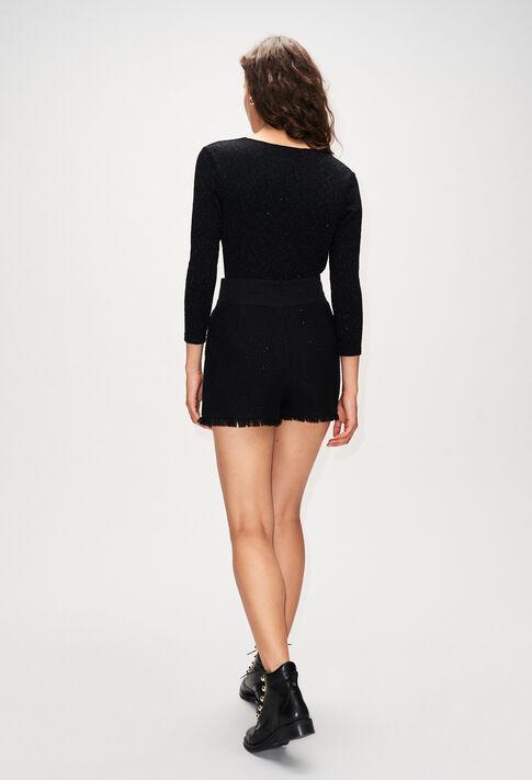 ESTERH19 : Jupes et Shorts couleur NOIR