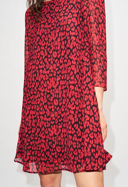 RIFIFILEOPARDH19 : Vestidos color CERISE