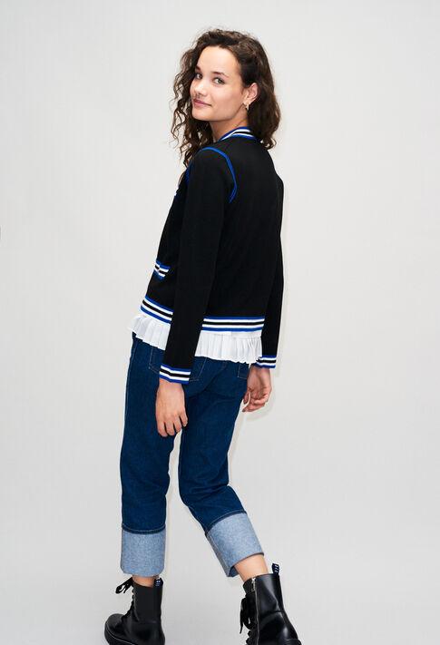 MEONIEH19 : Maille & Sweatshirts couleur NOIR