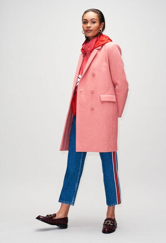 GERTRUDEH19 : Abrigos y chaquetas color ROSE PECHE