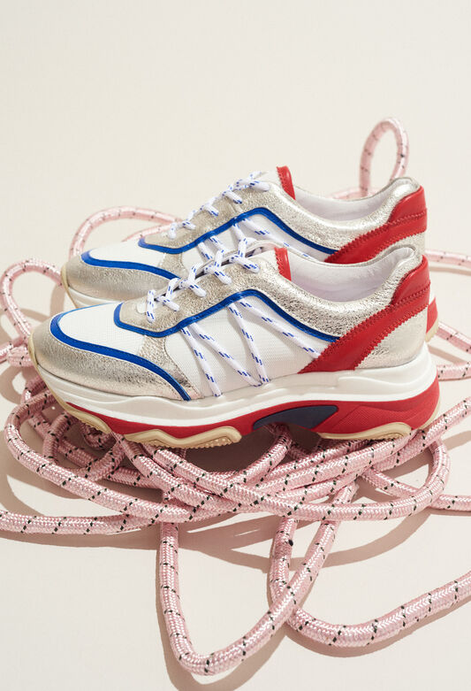 ADATIS : Chaussures couleur ARGENT