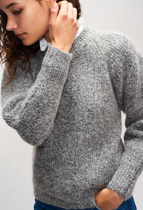 MATUREH19 : Jerseys de punto y sudaderas color GRIS CHINE CLAIR
