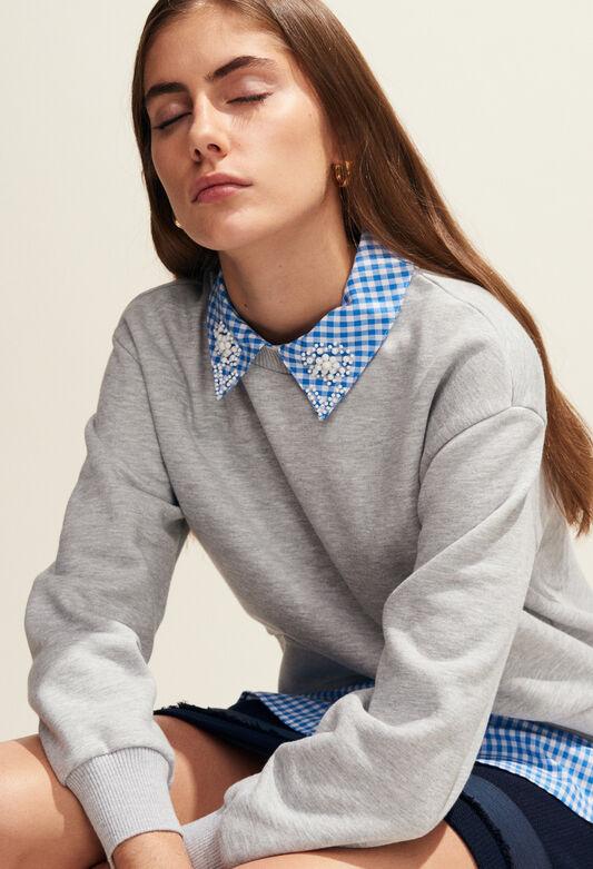 TAIPEI : Jerseys de punto y sudaderas color GRIS CHINE
