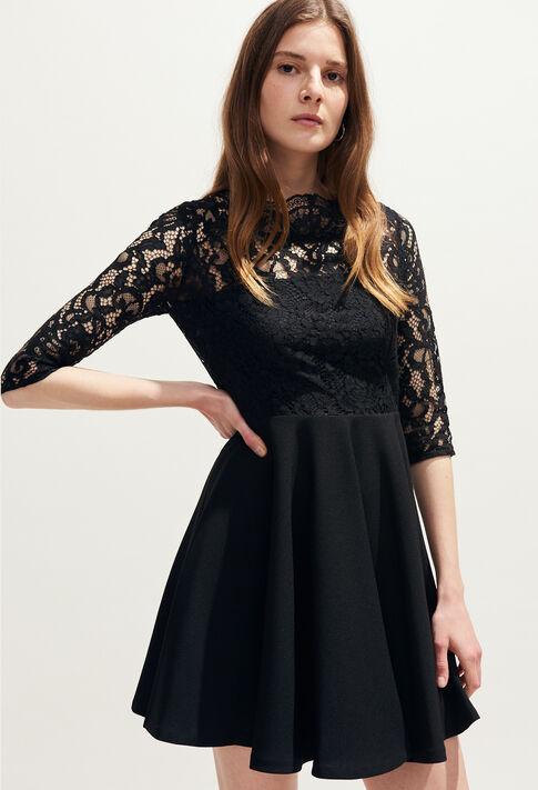 RHODES : Vestidos color Noir