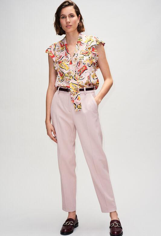 BAVARDH19 : Tops et Chemises couleur K004