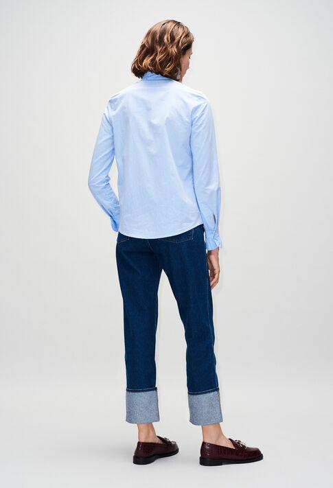 COLOMBEH19 : Tops y camisas color CHAMBRAY CLAIR - SHIRTING