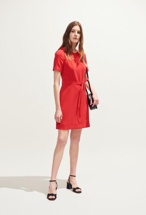 REYA : Vestidos color Ecarlate