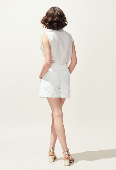 ELYNE : Jupes et Shorts couleur Ecru
