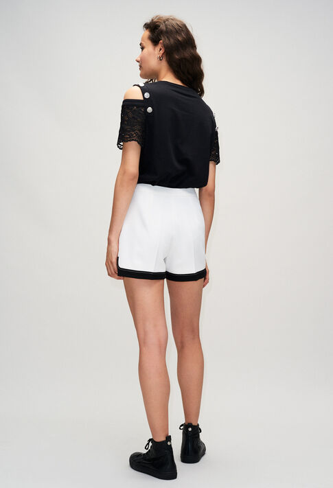 ELLAH19 : Jupes et Shorts couleur ECRU