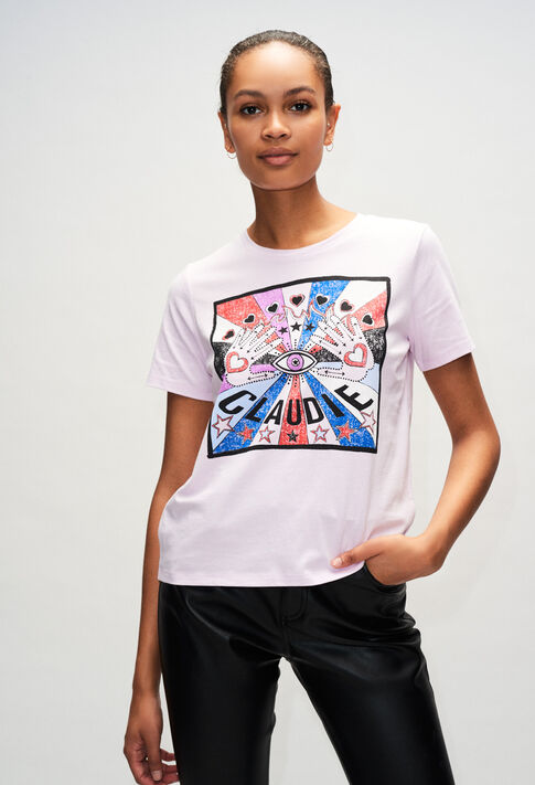 TOSHINEH19 : Camisetas color LILAS