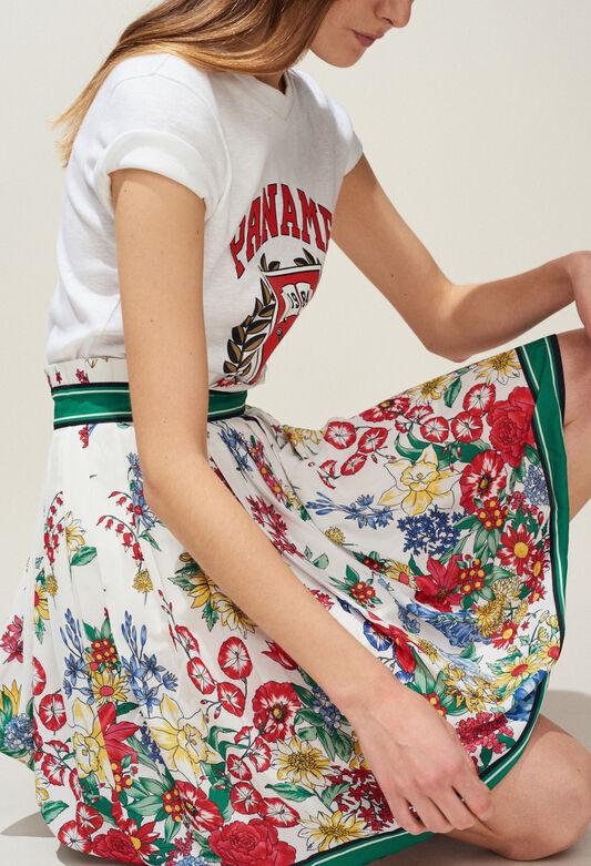 SMILE : Faldas y pantalones cortos color MULTICO