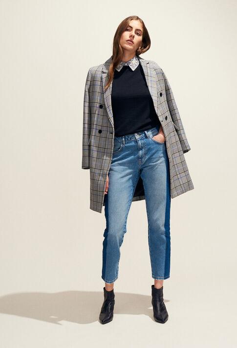 GABON : Abrigos y chaquetas color GRIS CHINE