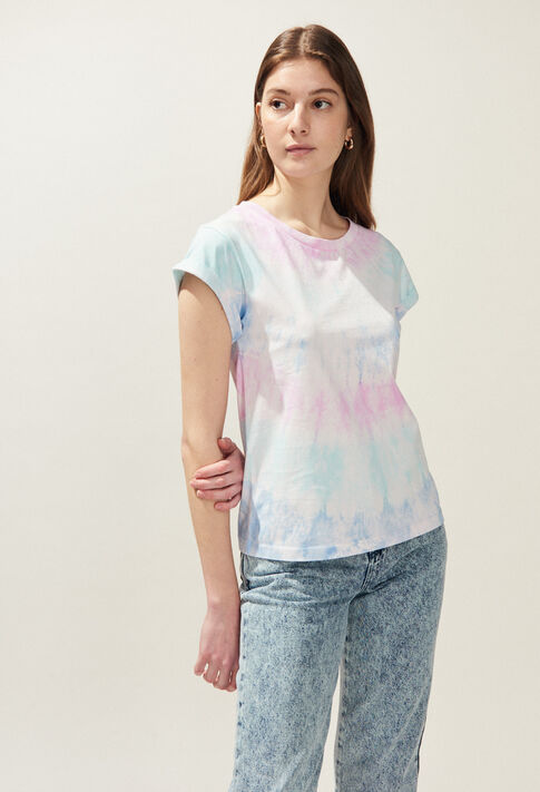 TIE&DYE : Camisetas color MULTICO