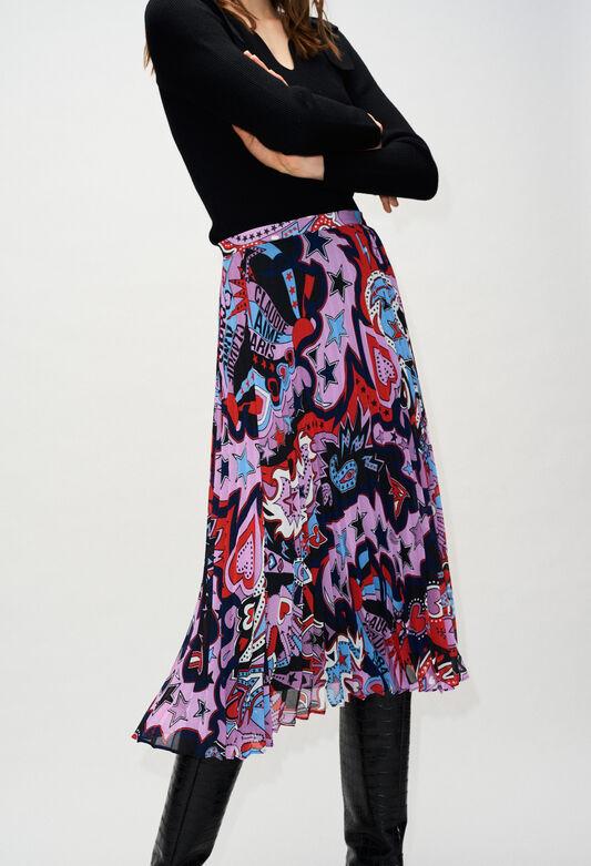 SEZAMEH19 : Faldas y pantalones cortos color PRINT