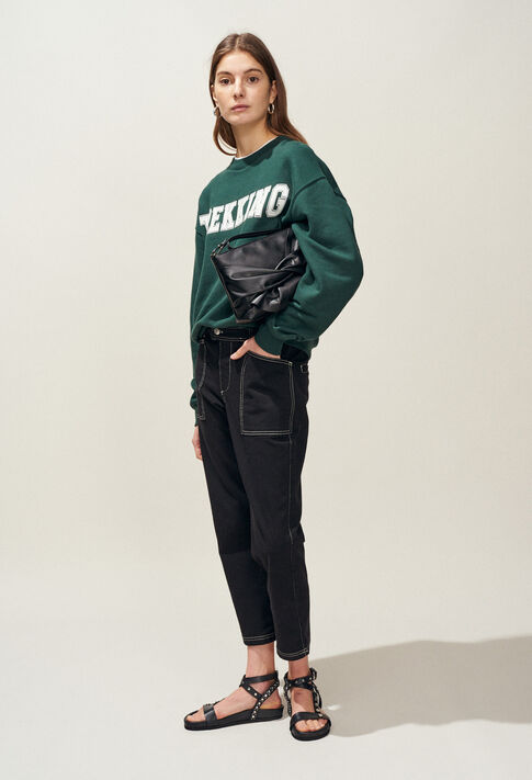 TREKKING : Jerseys de Punto y sudaderas color VERT IMPERIAL
