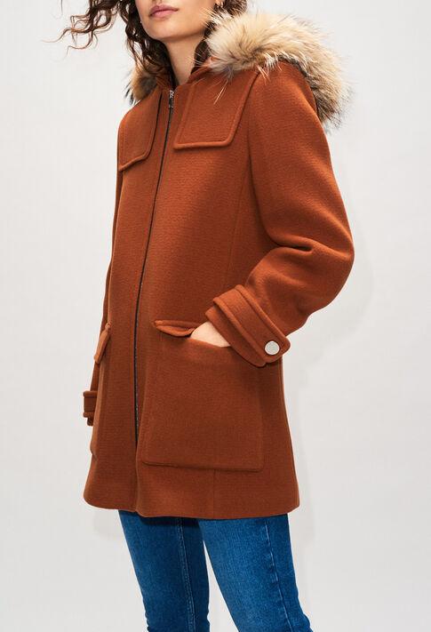 GREGOH19 : Abrigos y chaquetas color OURSON