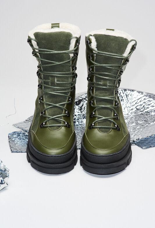 AUBEH19 : Zapatos color KAKI