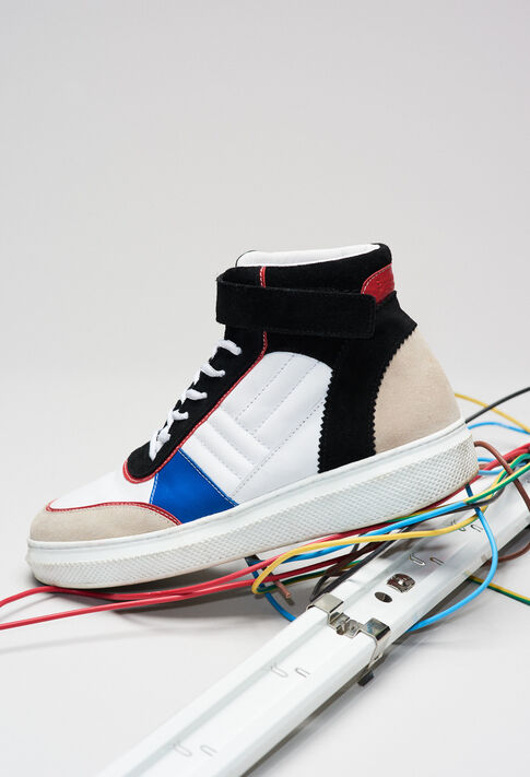 ALTOH19 : Zapatos color MULTICO