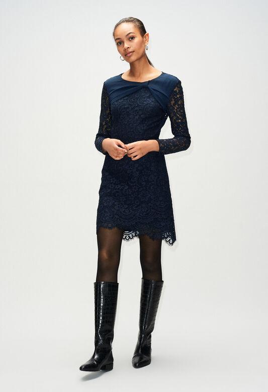 RUBENH19 : Robes couleur MARINE