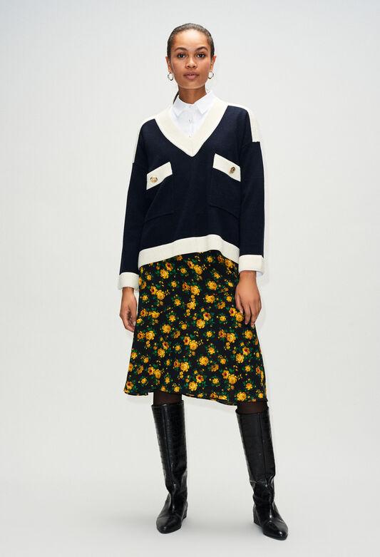 MASCYH19 : Jerseys de punto y sudaderas color MARINE