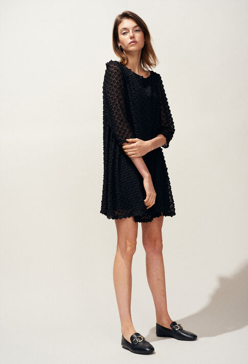 RIFIFI NUAGE : Robes couleur Noir