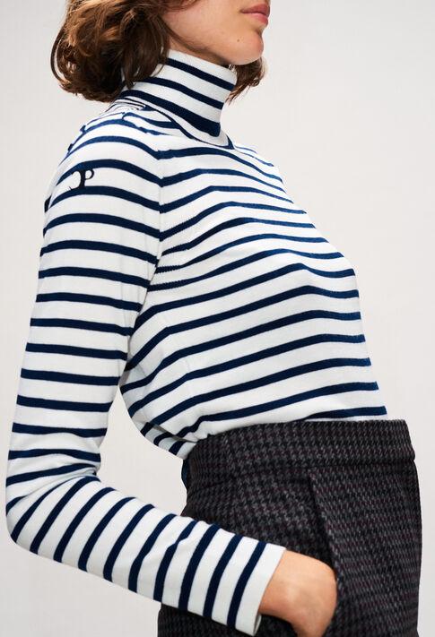 MOUSSIH19 : Jerseys de punto y sudaderas color MARINIERE