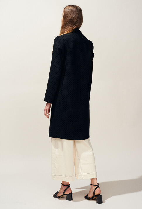 GOLD POIS : Manteaux et Blousons couleur Noir
