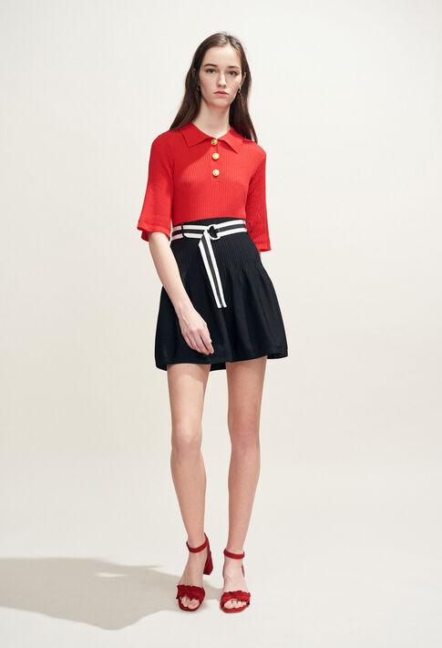 MONACO : Faldas y pantalones cortos color Noir