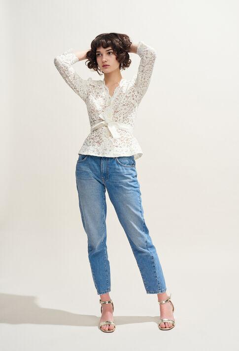 PASTEQUE : Pantalones y vaqueros color Jean
